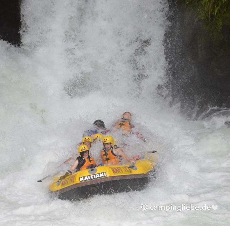 Rafting Tour in Neuseeland
